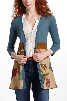 Foliage Empire Cardigan #anthropologie  soooooooooooooo cute and theyre already sold out in all sizes ://