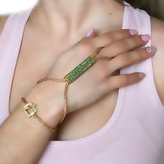 Sosy Gallery   Sosy Gallery   Isis Bracelet -Ring