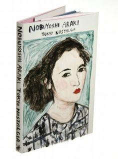 Nobuyoshi araki hand painted book cover