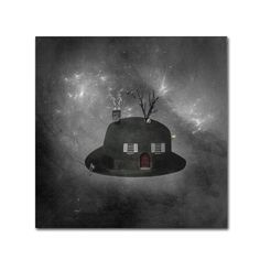 Home Sweet Home by Erik Brede Graphic Art Gallery Wrapped on Canvas