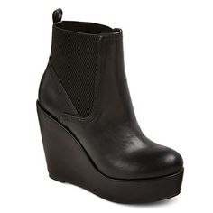 Earth to Target we heard you when you said the 90s are calling again when you played us groove is in the heart. Women's Anita High Wedge Chelsea Boots