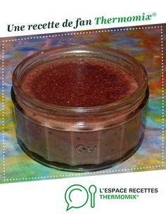 Dessert au chocolat par lisianeetabel. Une recette de fan à retrouver dans la catégorie Desserts & Confiseries sur www.espace-recettes.fr, de Thermomix<sup>®</sup>.