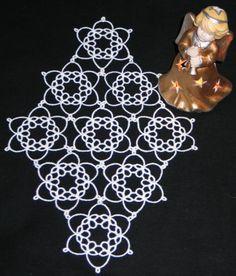 Advanced Embroidery Designs - Tatting Snowflake Set.