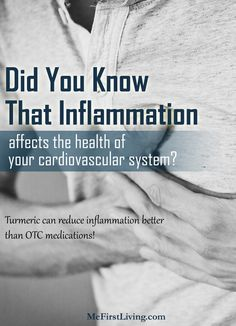 Turmeric's amazingly beneficial for your cardiovascular system! Turmeric For Inflammation, Turmeric Curcumin, Reduce Inflammation, What Happens When You, Did You Know, Knowing You, Benefit, Stress, Medical