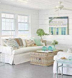 Interior Design Of Beach Cottages Coastal Cottage Style