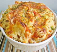 Seafood Baked Rice Can't wait to make this for the boys!!