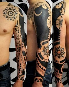modern arm tattoos for men 2016