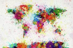 splatter the world