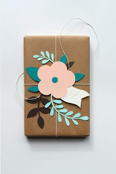 Pretty paper cut or wrapping gift idea