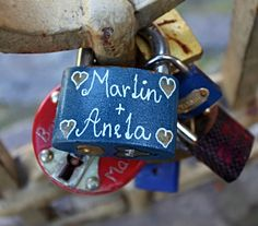 Locks for Love in Prague - Charles Bridge #lovelockstore  #lovelockstory #lovelocks #lovelockbridge UPLOAD the your SELFIE picture and get 10% SALE on http://lovelockstore.com