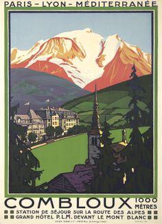 Combloux. 1930
