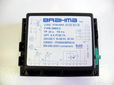 Brahma DM32N Control Box -  http://www.pipelineelectrical.co.uk/Brahma-DM32N-Control-Box_484252-52219 We supply a whole range of electrical, pipeline and heating spares on our website. Contact us  today for more information about the products we can provide you. 75 Reddal Hill Road, Cradley Heath, B64 5JT.