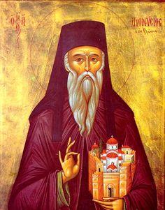 Άγ.Διονύσιος ο εν Ολύμπω ___January 23       (Full of Grace and Truth: St. Dionysios the Righteous of Olympus, and his Monastery