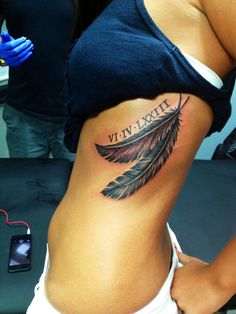 love the two feathers together.