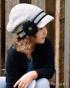 CROCHET PATTERN  City Slouchy  a crochet slouchy hat