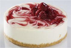 Raspberry Key Lime Cheesecake