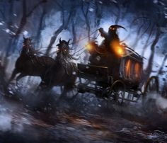 The Night Carriage by *AlexTooth on deviantART