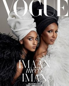 Imaan Hammam and Iman for Vogue Arabia