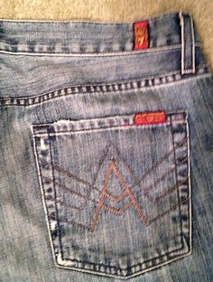 7 Seven for All Mankind   Women's Jeans Size 33 $24.99-celebrity wear at a fraction of what they pay !  http://stores.ebay.com/NYC-Fitness-Family-and-Finds?_rdc=1