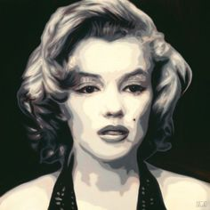 Portrait of Marilyn Munroeoil on stretched canvas76cm x 76cmSOLDPortrait commissions available