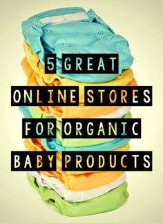 Here are five incredible organic-only websites for all your baby and kiddie needs. These sites feature amazing products that are not only good for your children but good for the environment as well! 5 Great Online Stores for Organic Baby and Kid Products {organic baby products}