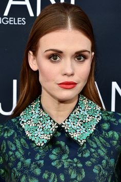 Holland Roden attends the Jovani L.A. Flagship Opening on May 24, 2016 in Beverly Hills, California.