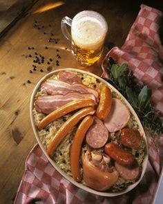 Sauerkraut ('choucroute' in French language)
