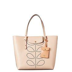 Orla Kiely   UK   bags   Mainline bags   Textured Leather Tillie Bag (16SBTEX054)   nude