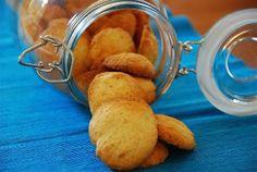 Biscoitos de farinha de arroz