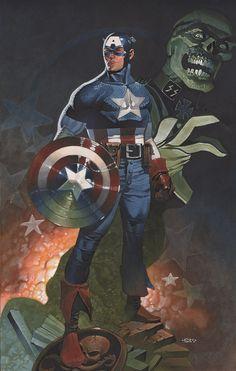 Captain America •Christopher Stevens
