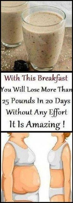 The Healthiest Breakfast: Clean Your Body from Toxins and Lose 11 Pounds in a Month - Get Healthy Magic Weight Loss Drinks, Weight Loss Smoothies, Eating Bananas, Eating Eggs, Burn Belly Fat Fast, Lose Belly, Diet And Nutrition, Get Healthy, Recipes