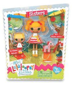 Mini Splash Sisters Spot Splatter Splash Scribbles Splash #lalaloopsy #minis #littles