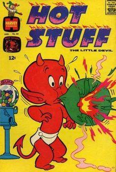 Hot Stuff, little devil! Harvey Entertainment Characters | 1950 ...