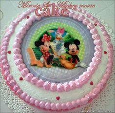 Marikacakes: Minnie & Mickey mouse cake