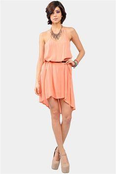 Summer Catch Dress - Melon