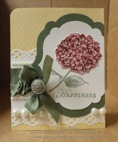 great layout - love the die cut that goes past the edge--soft colors, too!