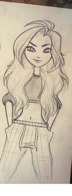 wow this girl is really pretty ill have to use her as one of my chin characterd a d a i wish i could draw like thisd d