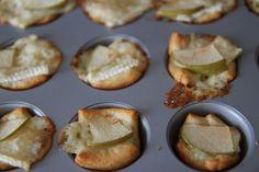 Lille Punkin': Easy Game Time Recipe: Mini Brie Apple Puffs!