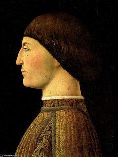 'Sigismondo Pandolfo Malatesta', Oil On Panel by Piero Della Francesca (1415-1492, Italy)