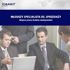 5d3134f63dfa0 Dziś polecamy ofertę pracy  Młodszy specjalista ds. sprzedaży Miejsce pracy   Kraków (małopolskie