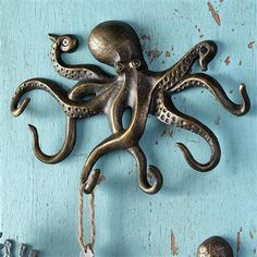SPI Home - Swimming Octopus Key Hook