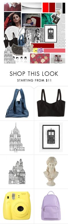 """""""Untitled #304"""" by mint-green-macaroonn ❤ liked on Polyvore featuring Maison Margiela, American Eagle Outfitters, Levi's, Chictopia, WALL, Universal Lighting and Decor, Fujifilm, SPURR and Assouline Publishing"""