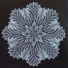 Crochet Motifs, Thread Crochet, Lace Knitting, Crochet Doilies, Knit Crochet, Tricot D'art, Crochet Snowflakes, Crochet Projects, Knitting Patterns