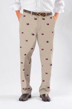 My husband's gameday pants  :)