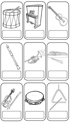 de muziekwinkel - kleuteridee Music Lessons For Kids, Music For Kids, Preschool Music Activities, Leadership Activities, Group Activities, Music Theory Worksheets, Instruments, Elementary Music, Elementary Schools