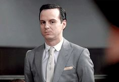 Moriarty GIF. He makes the best facial expressions ever!!