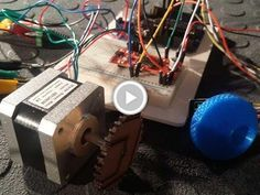Control a Stepper motor using an Arduino a Rotary Encoder and Easy Driver…