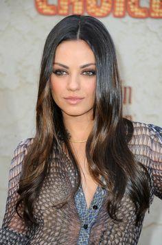 Mila Kunis....love the shadow look on her