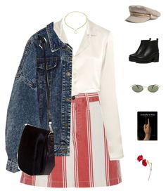 A fashion look from March 2018 featuring white top, blue jackets and pencil skirts. Browse and shop related looks. Nerd Outfits, Tv Show Outfits, Teenager Outfits, Cute Casual Outfits, Chic Outfits, Pretty Outfits, Fall Outfits, Fashion 101, Fashion Killa