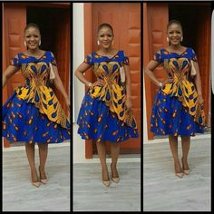 African women midi dresses / short African print dress for women / Ankara midi dress / african clothing for women / Ankara clothing African Attire, African Wear, African Women, African Prom Dresses, African Fashion Dresses, Fashion Outfits, Ankara Fashion, African Dress Styles, Mens Fashion